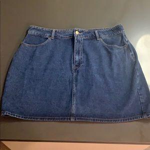 Dark Denim Forever 21 Mini Skirt NEVER WORN